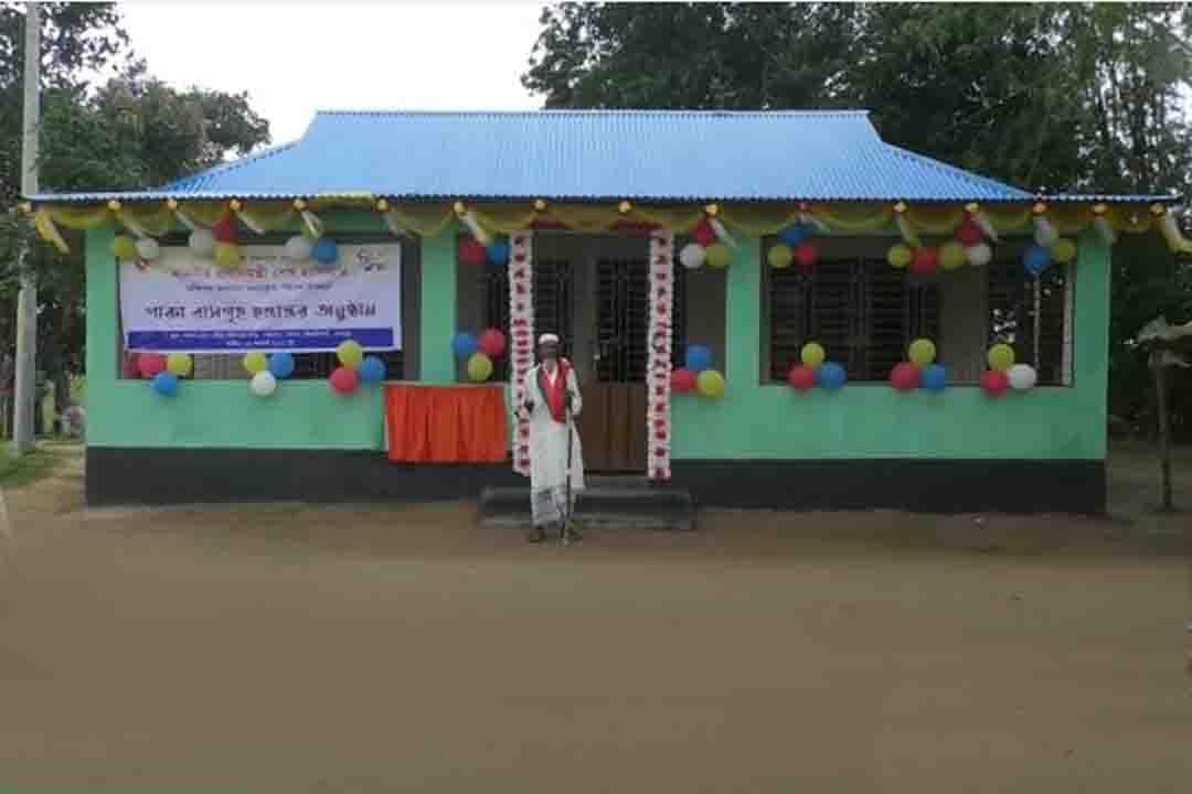 ভিক্ষুক নজিমুদ্দিনকে বাড়ি দিলেন প্রধানমন্ত্রী শেখ হাসিনা