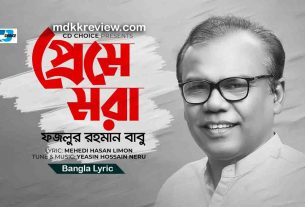 Preme Mora Lyrics (প্রেমে মরা) Fazlur Rahman Babu New Bangla Song 2020