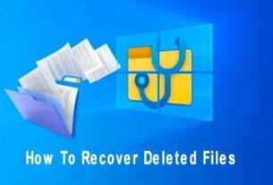 পিসিতে ডিলিট হওয়া ফাইল ফিরিয়ে আনার উপায় How To Recover Deleted Files