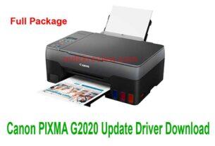 Canon PIXMA G2020 Update Driver Download 2021