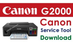 Canon G2000 Resetter Download