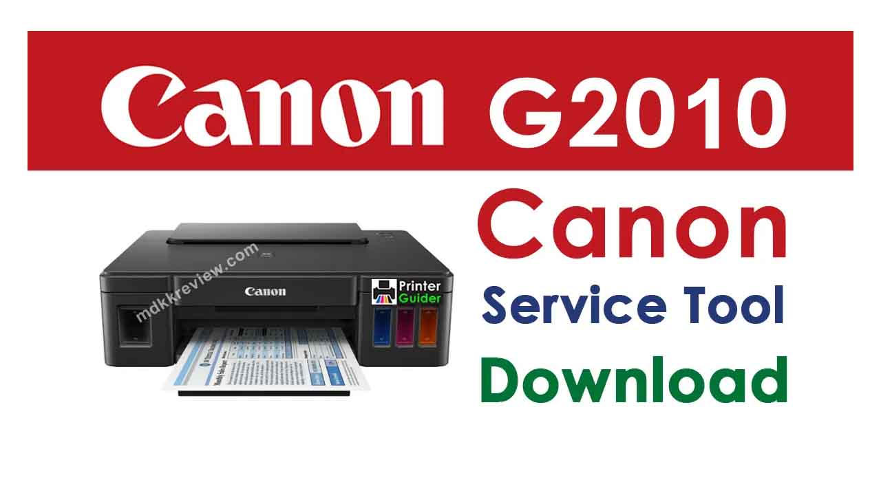 Canon G2010 Resetter Download with password
