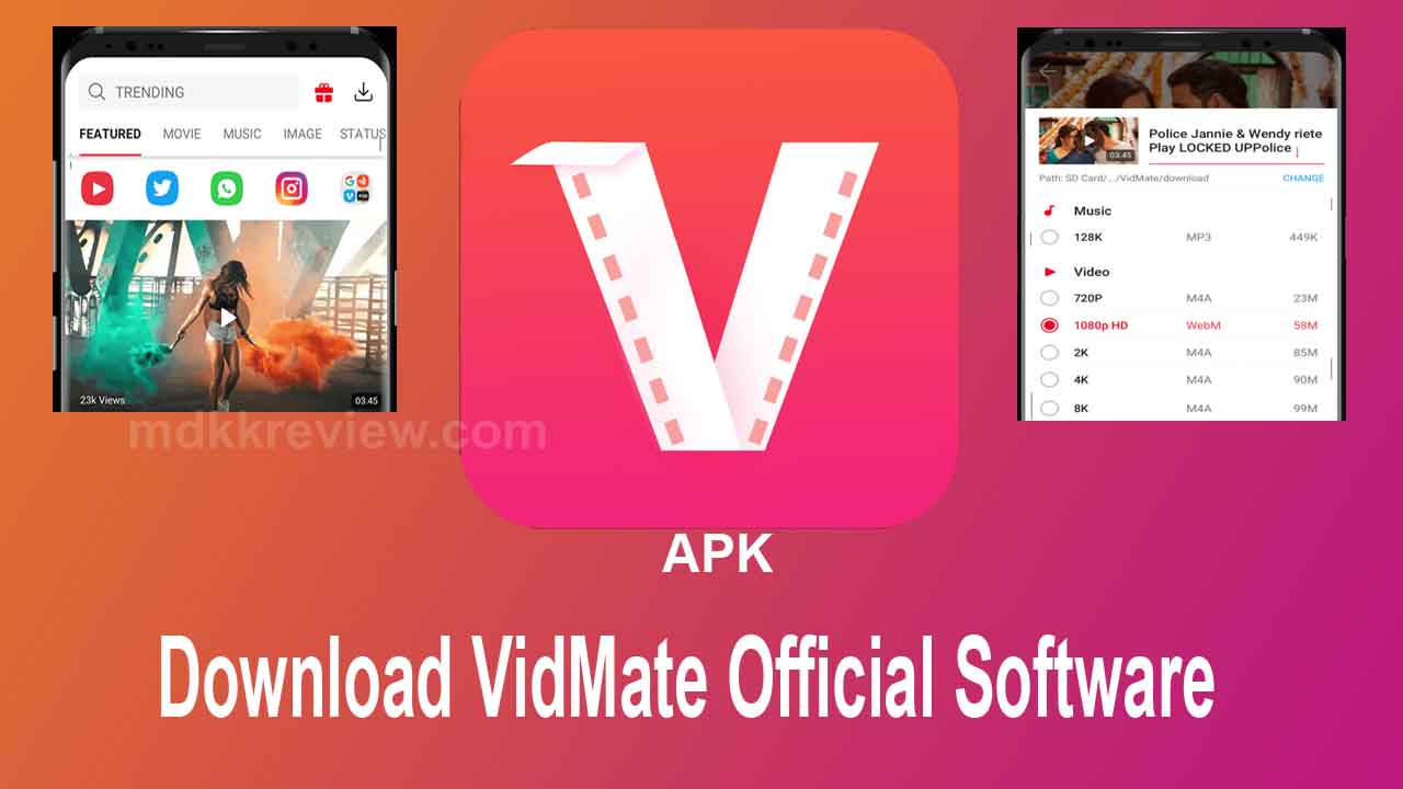 Download Vidmate Official Software For Android