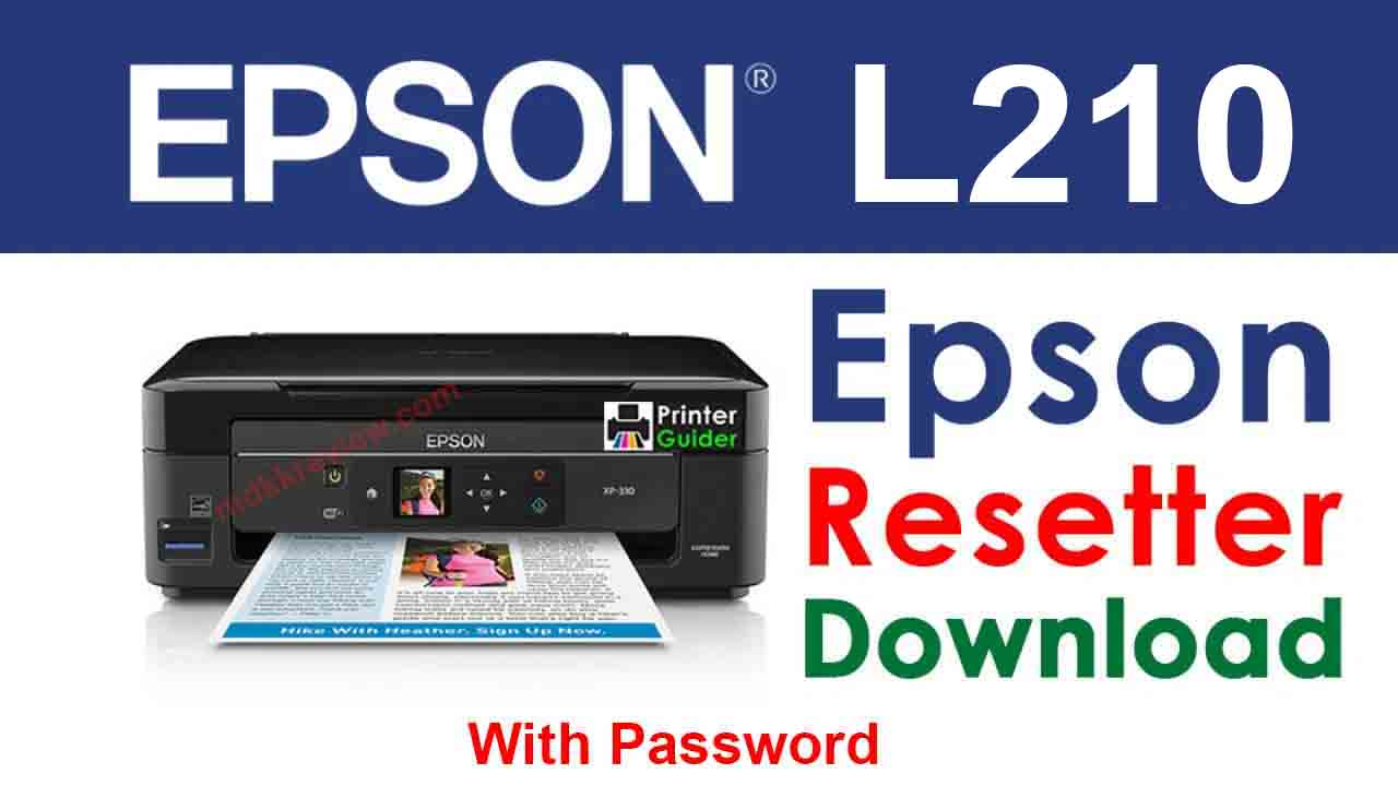 Epson L210 Resetter Tool Download For Free