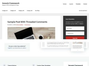 Genesis Framework WordPress Theme