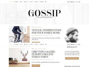 GossipBlog WordPress Theme