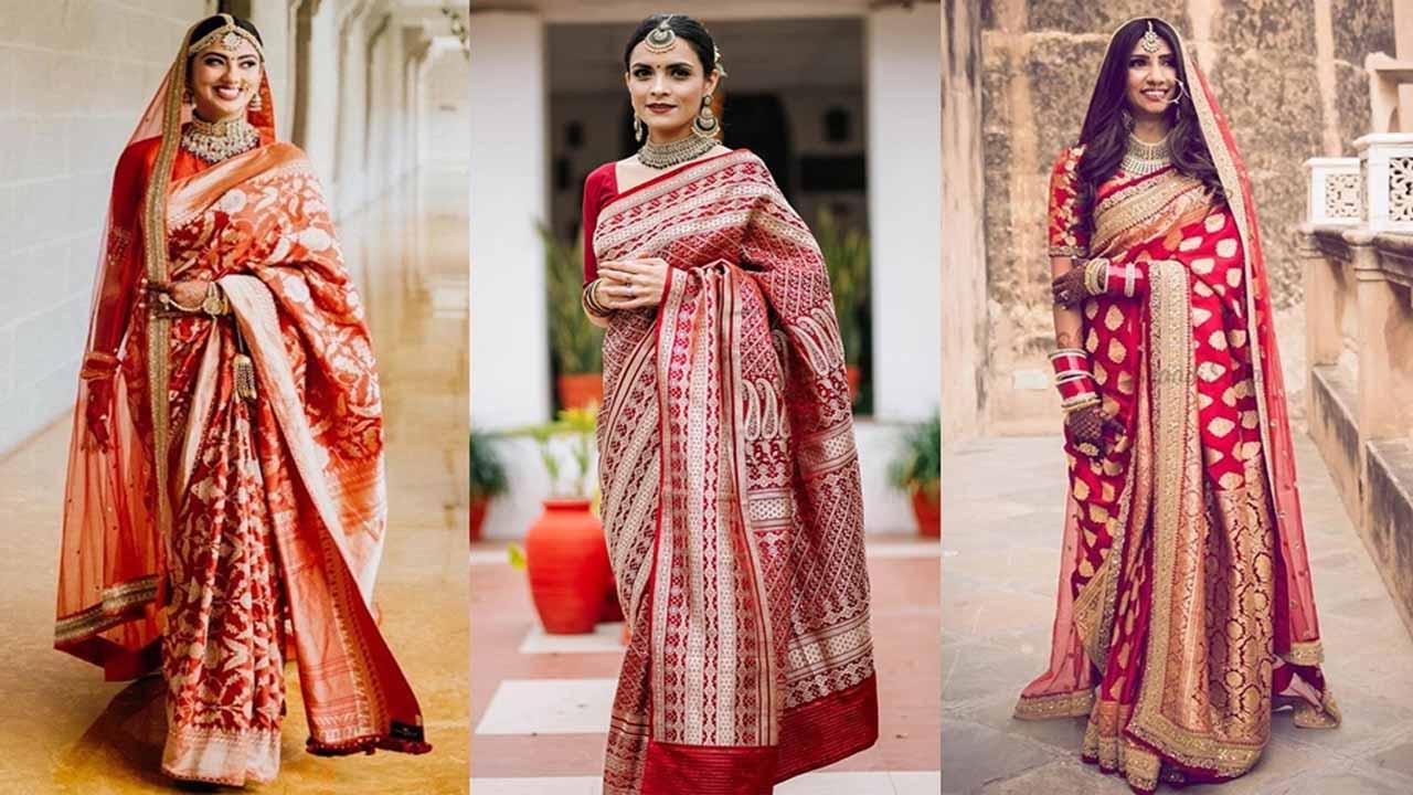 Latest Wedding Sarees Ideas For Bride (Bangla)