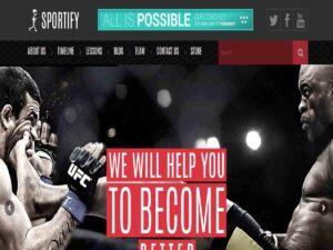 Sportify WordPress Theme