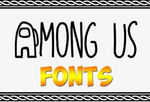 Among Us Font Download For Free