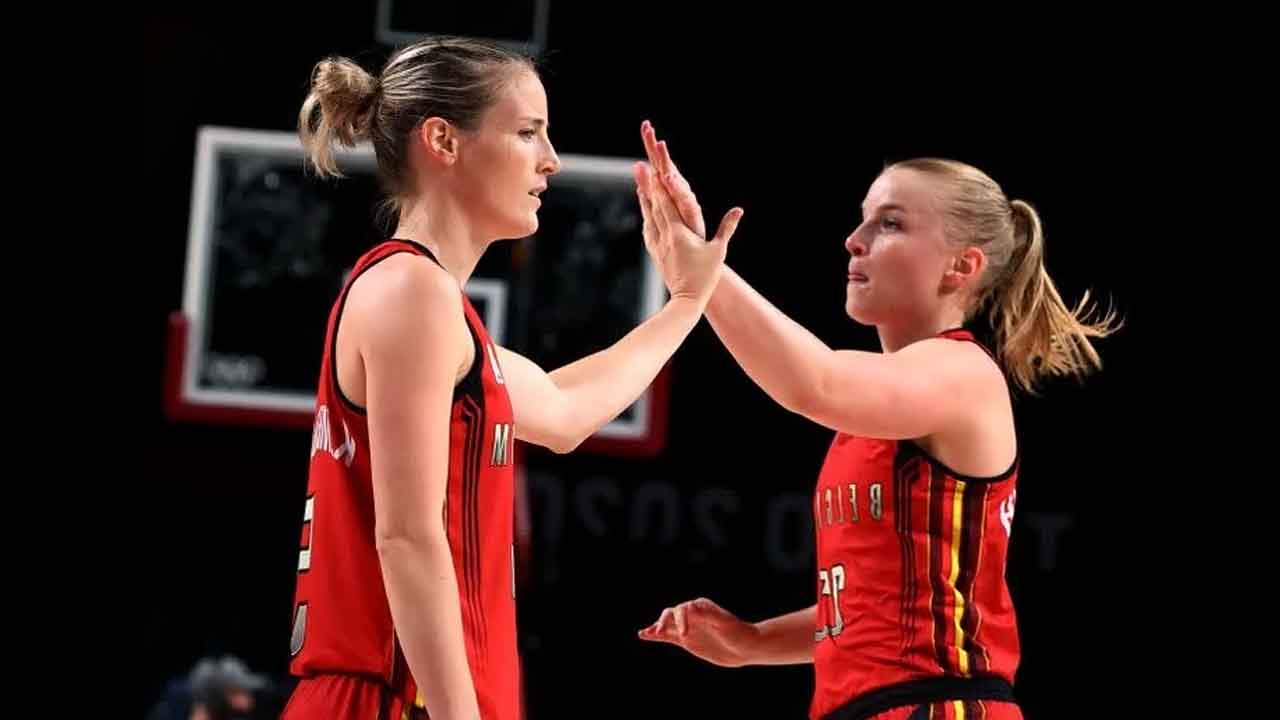 Belgian coach says daughters are 'just players' in Olympics Basketball Games Debut
