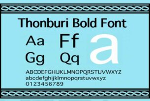 Thonburi Bold Font Download For Free