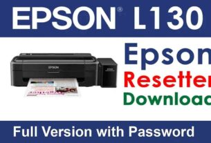 Epson L130 Resetter Tool Download For Free