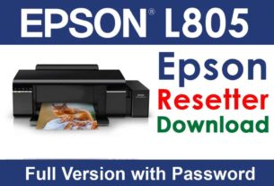 Epson L805 Resetter Tool Download For Free