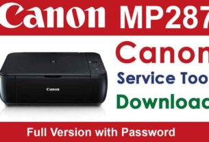 Canon MP287 Resetter Download For Free