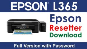 Epson L365 Resetter Tool Download For Free