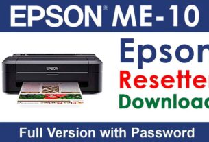 Epson ME 10 Resetter Tool Download For Free