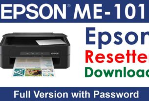 Epson ME 101 Resetter Tool Download For Free